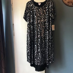 LuLaRoe Elegant Carly Swing Dress